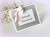 """Papiernictvo - Menovky """"Sweet diamond"""" - 9503497_"""