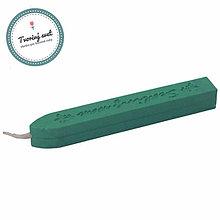 Suroviny - Pečatný vosk zelený - 9504933_