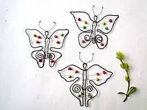 Dekorácie - Motýliky - 9503368_