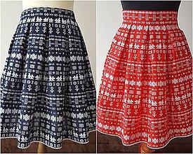 Sukne - suknica čičmany - 9503966_