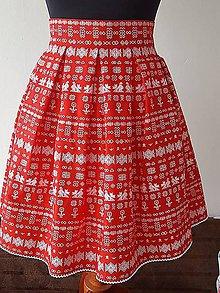 Sukne - sukňa čičmany - 9503974_