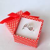Prstene - folk zásnubný prsteň Trnava - mini - 9503788_
