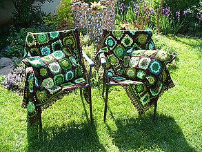 Úžitkový textil - Keď pršalo mrholilo, žabiatko sa narodilo, sada - 9505594_