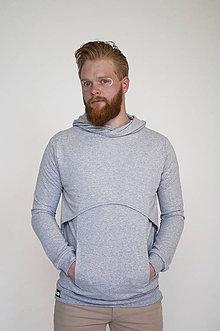 Oblečenie - Mikina Chevalier Grey M - 9508333_