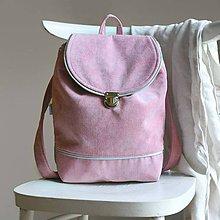 Batohy - Batôžtek (púdrovo-ružový) - 9508193_