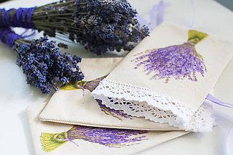Úžitkový textil - Ty si má, levanduľová.......... - 9509473_