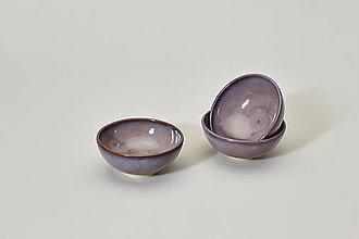 Nádoby - Jarní melounová mini mistička (purpurová) - 9508455_