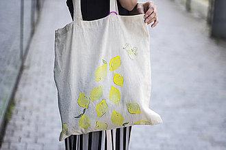 Nákupné tašky - Eko taška citronáda - 9508614_