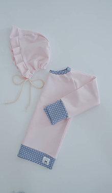 Detské oblečenie - Jarná rastúca mikina (Ružová) - 9509008_