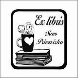 Drobnosti - Pečiatka Ex libris - Coffee - 9508365_