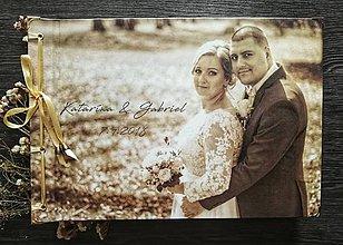 Papiernictvo - Fotoalbum klasický, polyetylénový obal s potlačou vlastnej fotografie s nápisom, či bez (4 foto na stranu) - 9507646_