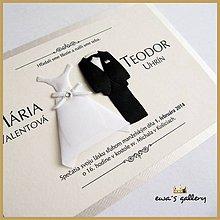 Papiernictvo - Svadobné oznámenie ~Wedding II.~ - 9508693_