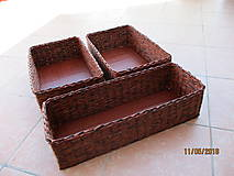Košíky - šatníkové pre Paulínku.. - 9508353_