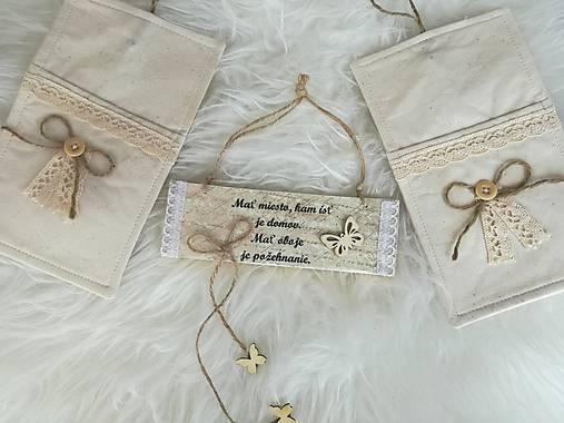 Vintage obal na príbor pre dvoch.   susugo - SAShE.sk - Handmade ... f0c4dec4136