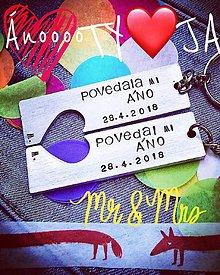 Kľúčenky - POVEDAL / a mi Áno :) - 9510220_