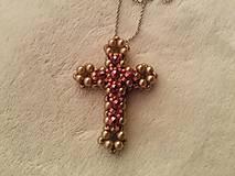 Náhrdelníky - Krížik na krku. - 9511335_