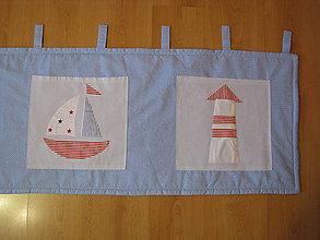 Úžitkový textil - Zástena za posteľ - pre námorníkov - 9510948_