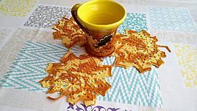 Úžitkový textil - Trojlístok - 9510531_