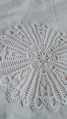 Úžitkový textil - Háčkovaný obrus - 9510523_
