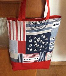 Nákupné tašky - námornícka taška - 9510931_