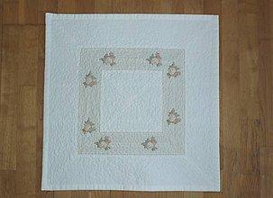 Úžitkový textil - Obrus s kvietkami - 9511732_