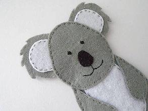 Hračky - Bábky na prsty: zvieratá (Koala) - 9510763_