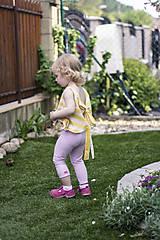 Detské oblečenie - Detské tričko pásik - 9510566_