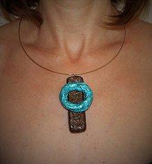 """Náhrdelníky - náhrdelník """"geometria"""" I - 9511131_"""