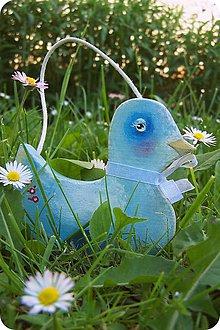 Detské doplnky - Modrák kačiak - 9511280_