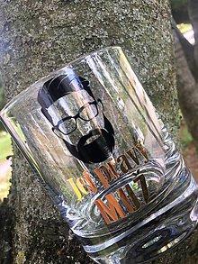 """Nádoby - Whisky pohár  """"Jej pravý muž"""" - 9511797_"""