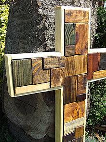 Dekorácie - Kríž - 9510613_