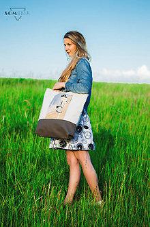 "Veľké tašky - Taška ""vintage lady"" - 9510172_"