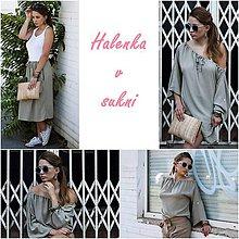 Tuniky - Halenka a sukňa v jednom - 9510702_