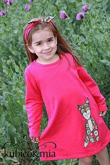 Detské oblečenie - Šatičky - s líštičkou - 9513785_