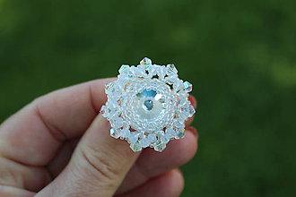 Prstene - prsteň Crystal - 9513009_