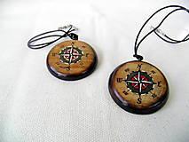 prívesok  kompas