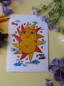 Kresby - ...opět jedno sluníčkové přání... - 9512387_