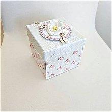 Papiernictvo - Krabička na peniaze - 9512354_