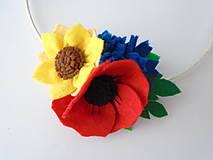 Kvetinová čelenka M (Leto)