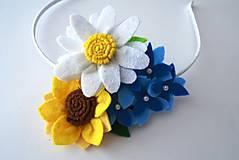 Kvetinová čelenka M (Lúka)
