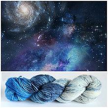 Galantéria - GALAXY - ručne farbená vlna - Singles merino superwash - 9514834_