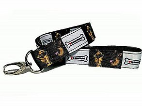 Kľúčenky - Kľúčenka Nemecký ovčiak - 9514376_
