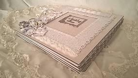 Papiernictvo - Svadobný album pre Katku - 9512633_