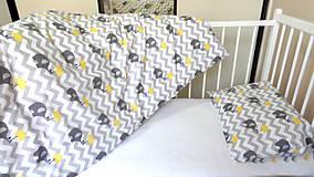 Textil - Obliečky do detskej postieľky.Obojstranné. - 9513880_