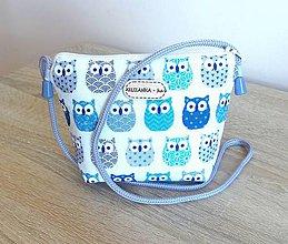 Detské tašky - Dievčenská kabelka - 9514796_