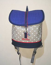 Batohy - Dámsky ruksak s menom - 9514811_