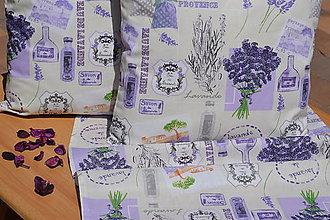 Úžitkový textil - Levandula - vankúš - 9513431_