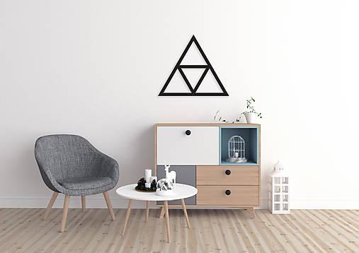 Magnetická geometrická nástenka / dekorácia TRIANGLE