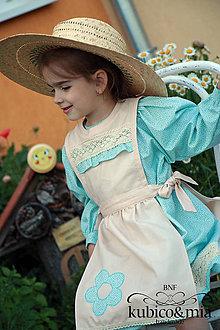 Detské oblečenie - Šatičky - vo folklórnom štýle - 9518621_