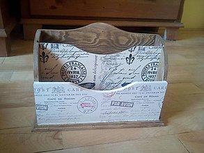Krabičky - vintage motýľ  na poštu - 9518080_
